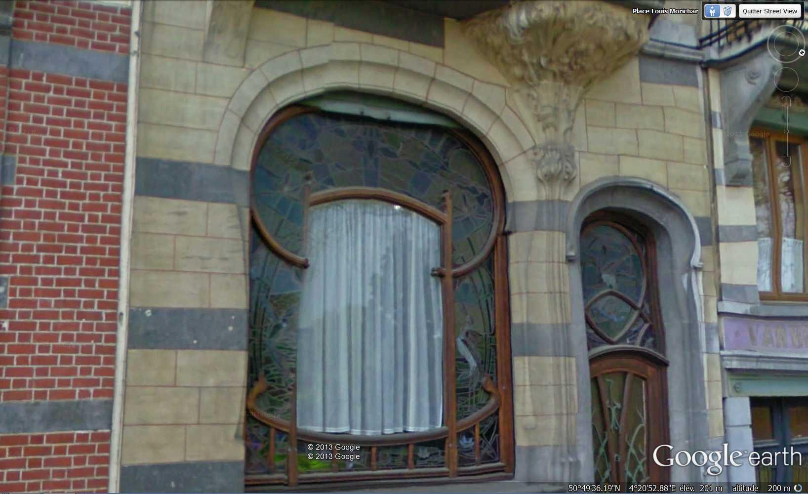 STREET VIEW : les maisons art nouveau  - Page 2 2013-184