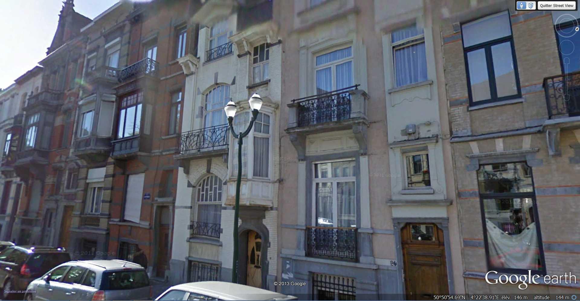 STREET VIEW : les maisons art nouveau  - Page 2 2013-195
