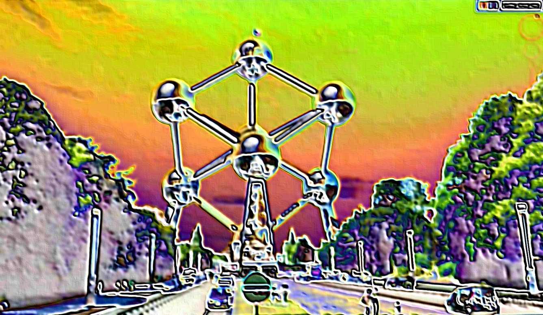 STREET VIEW en version pinceaux, fusain et crayons 2014-025