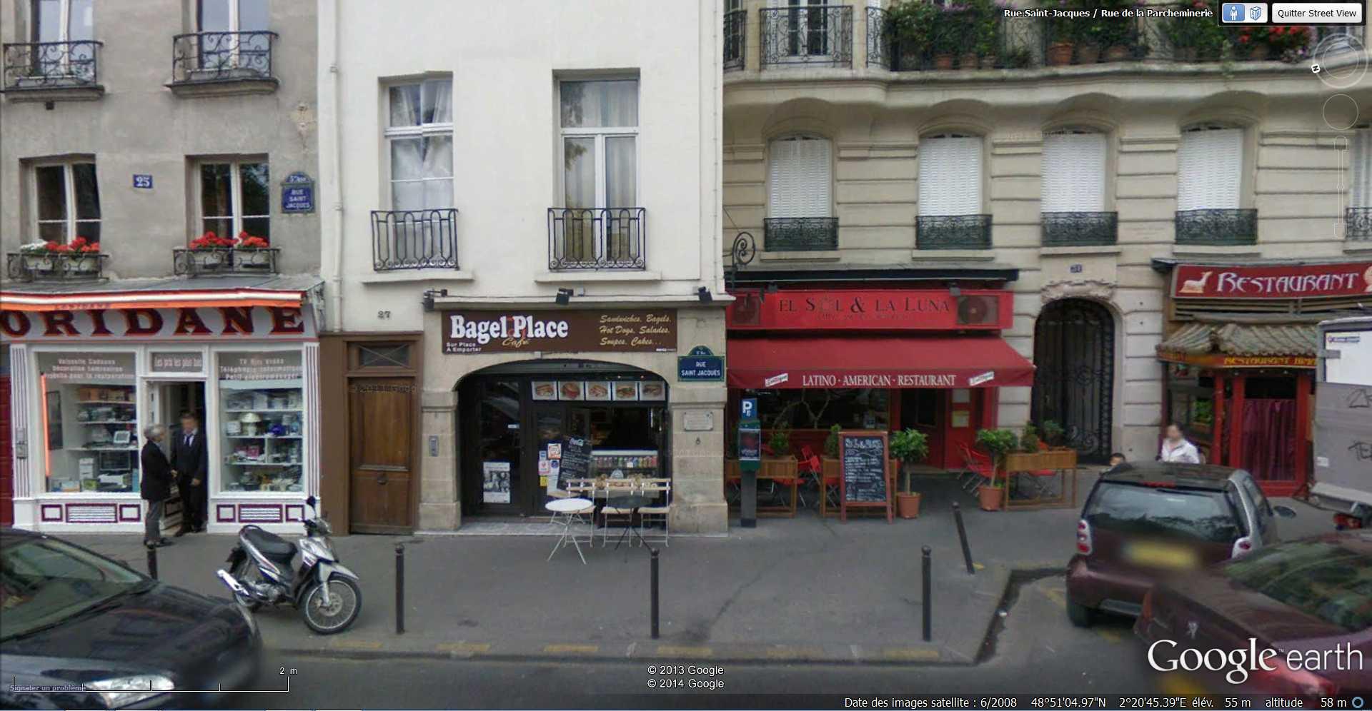 STREET VIEW: Les cadrans solaires en façade. 2014-052