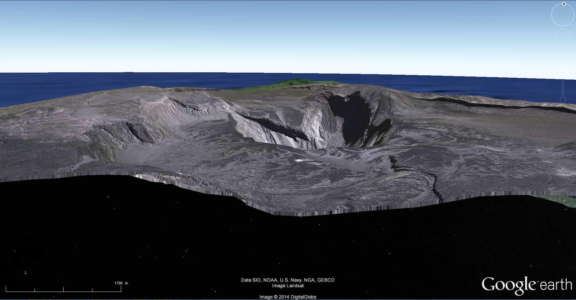 Les dessous de Google Earth avec le volcan Karthala - Comores 2014-100