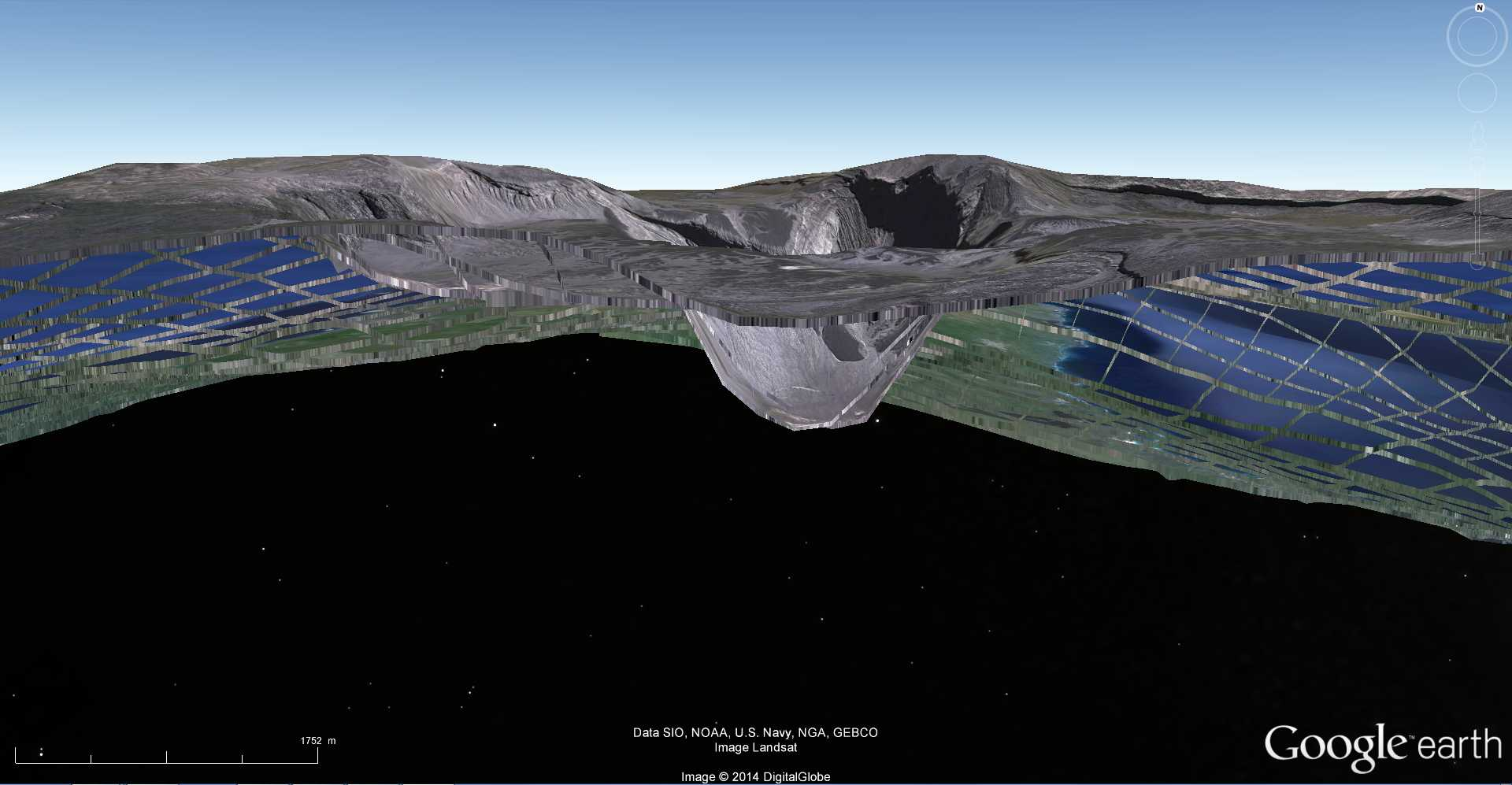 Les dessous de Google Earth avec le volcan Karthala - Comores 2014-101