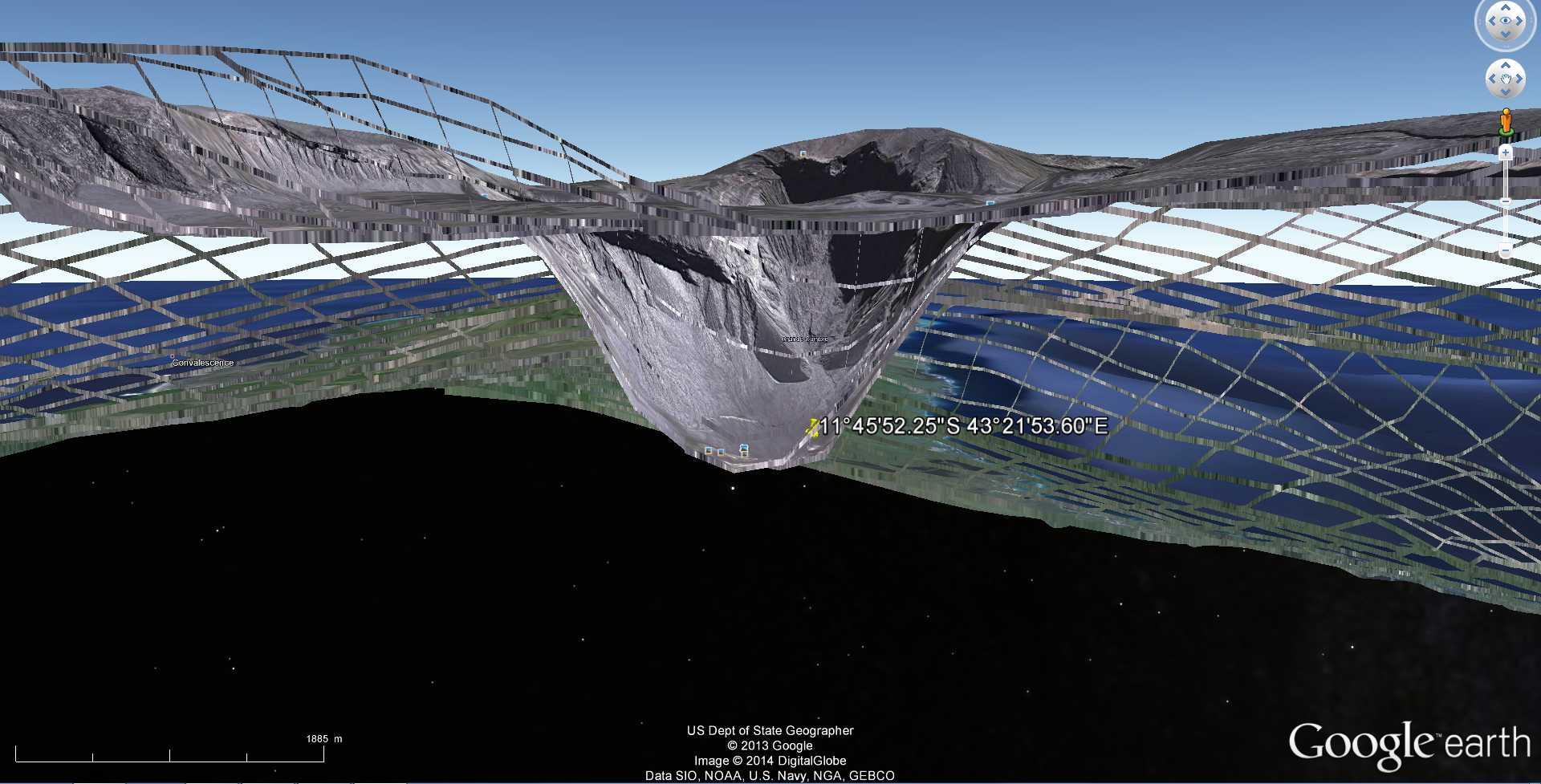 Les dessous de Google Earth avec le volcan Karthala - Comores 2014-106
