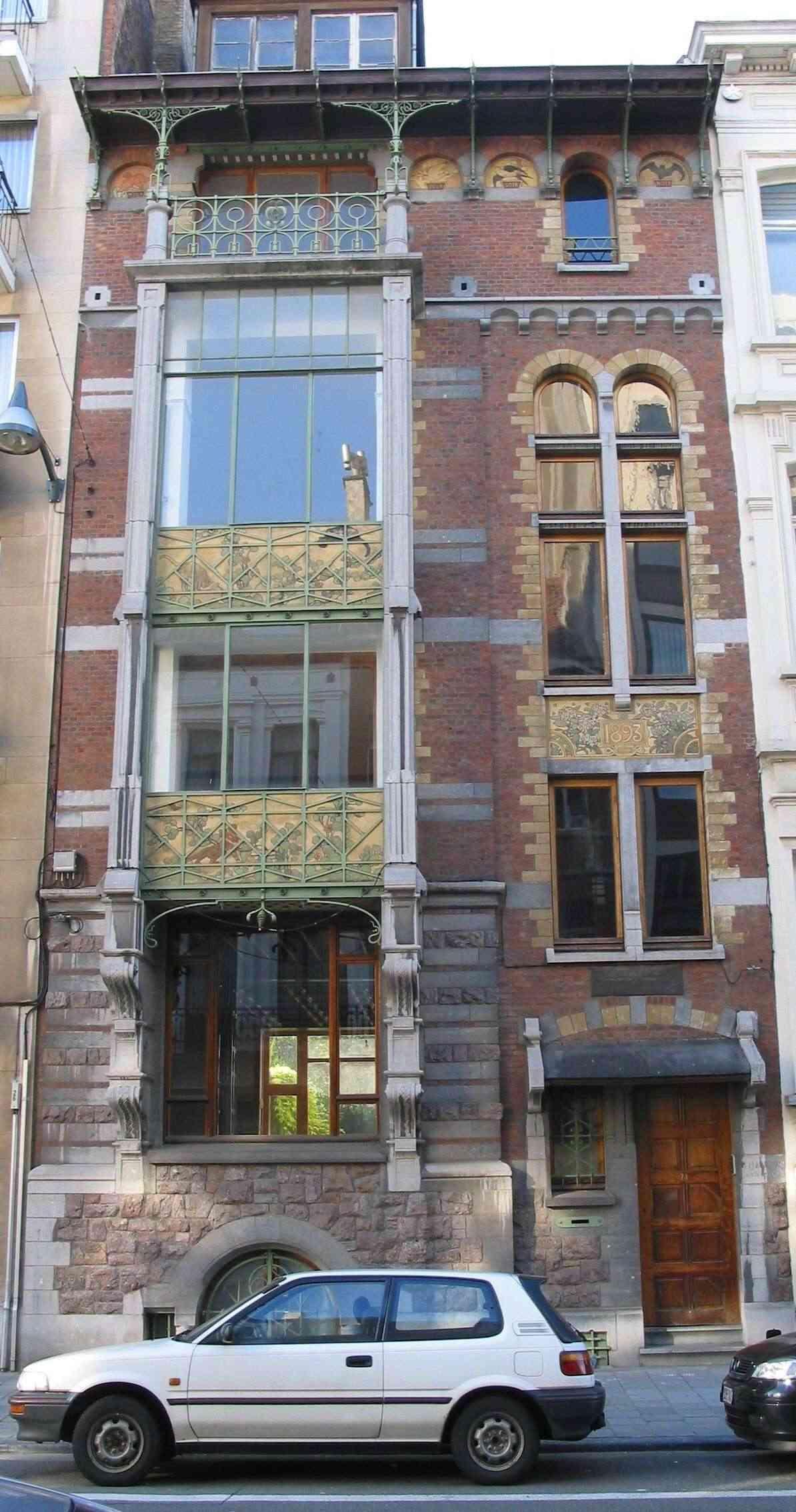 STREET VIEW : les maisons art nouveau  - Page 2 St-gil10