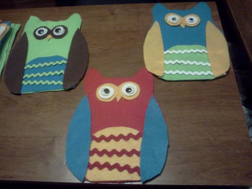 Give A Hoot/ Owl Ornaments~ Downsi11