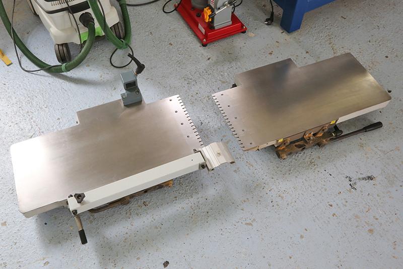 Motorisation table raboteuse (voir p.13) et amélioration R/D Holztech FS320 (première partie)  - Page 40 14_avr15
