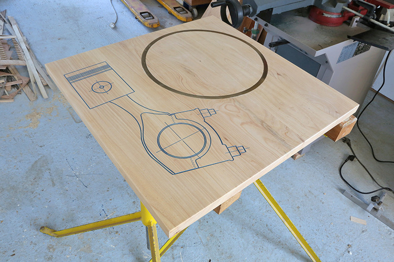Table basse Louis Caisse. 23_avr11