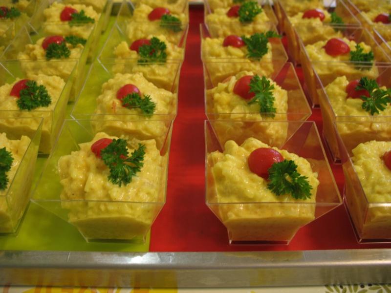 Verrines à la salade de poulet au curry + photo Img_4314