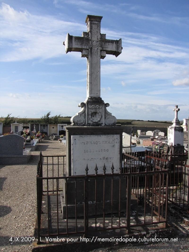 Tombe BRAQUEHAY Auguste fils (1853-1896), bienfaiteur des Hospices de Montreuil Braque10