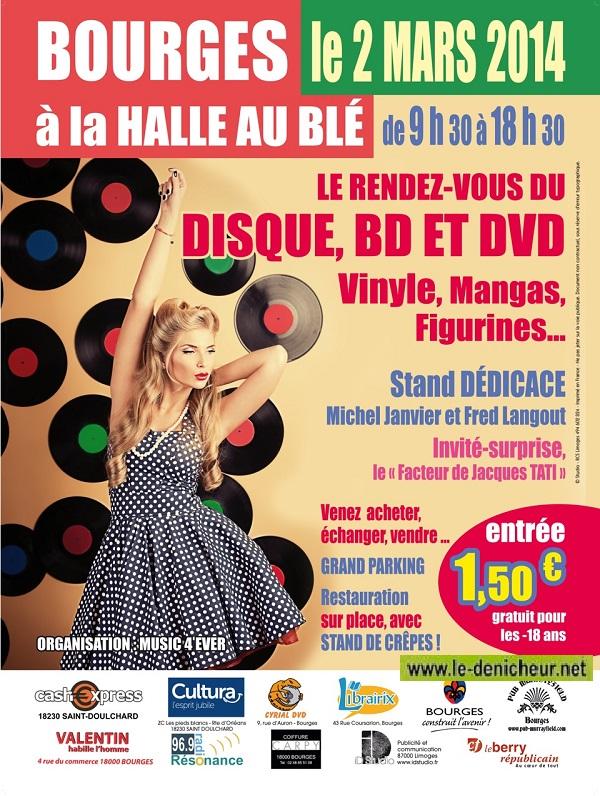 DIM 02 mars - BOURGES - Le Rendez-Vous du Disque, BD et DVD 0310