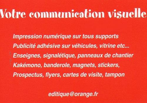 b02. ISSOUDUN - EDITIQUE - Impression numérique, signalétique, publicité adhésive, flyers    Img46110