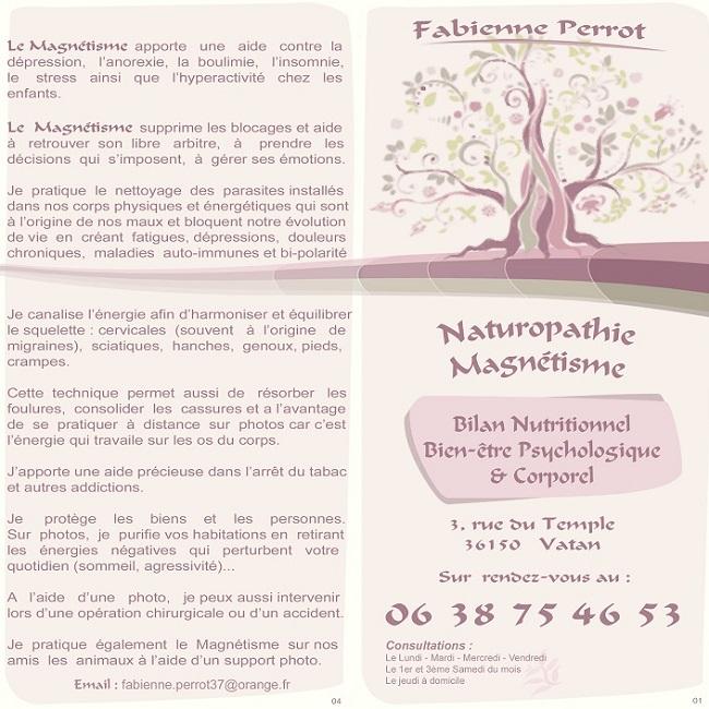 k01. VATAN - Fabienne PERROT  - Magnétisme / Naturopatnie Vatan_15