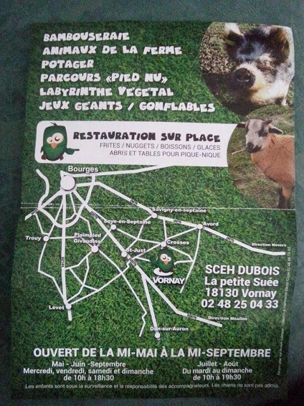 g25. VORNAY (18) CHER - L'ODYSSEE DU BERRY - Jardin des sens et des loisirs,labyrinte, jeux Vornay13