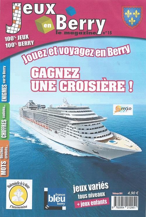 JEUX EN BERRY MAGAZINE - Jouer et voyager en Berry - Indre et Cher Zolico10