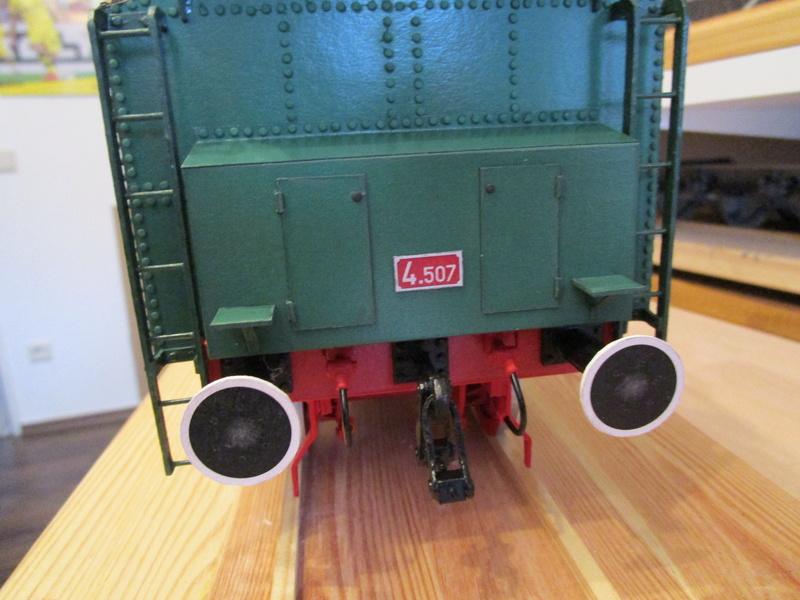 Fertig - Lokomotive HCP 1-6-2 Bulgar Modelik 1:25 von Lothar - Seite 5 27210