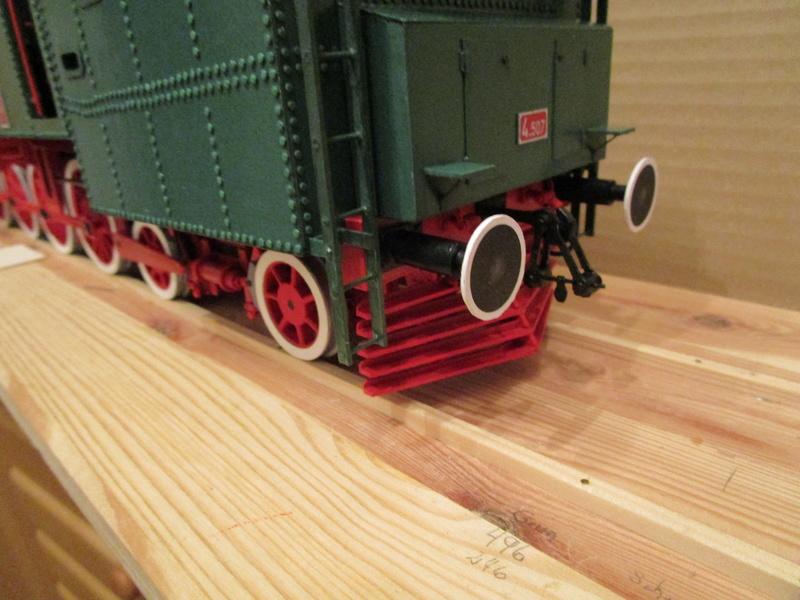 Fertig - Lokomotive HCP 1-6-2 Bulgar Modelik 1:25 von Lothar - Seite 5 28810