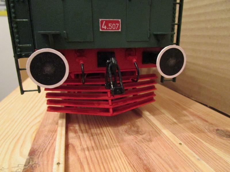 Fertig - Lokomotive HCP 1-6-2 Bulgar Modelik 1:25 von Lothar - Seite 5 29110