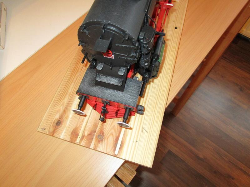 Fertig - Lokomotive HCP 1-6-2 Bulgar Modelik 1:25 von Lothar - Seite 5 31410
