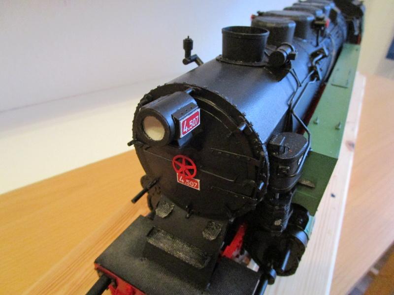 Fertig - Lokomotive HCP 1-6-2 Bulgar Modelik 1:25 von Lothar - Seite 5 32510