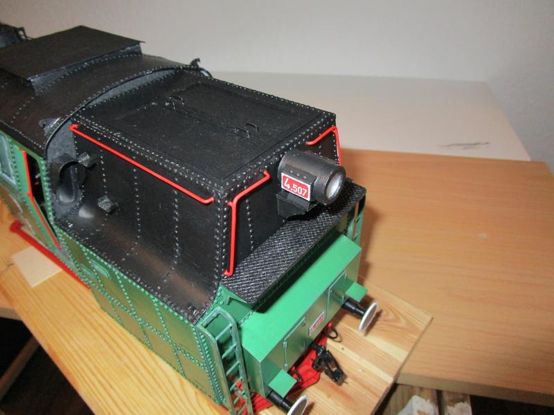 Fertig - Lokomotive HCP 1-6-2 Bulgar Modelik 1:25 von Lothar - Seite 5 32910