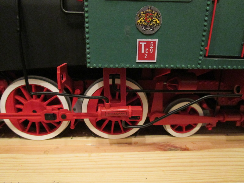 Fertig - Lokomotive HCP 1-6-2 Bulgar Modelik 1:25 von Lothar - Seite 6 33311