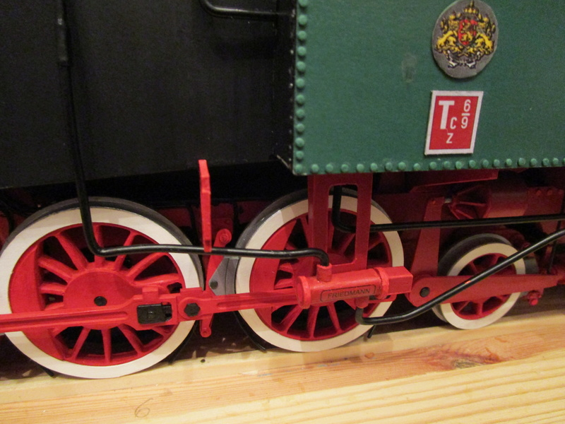 Fertig - Lokomotive HCP 1-6-2 Bulgar Modelik 1:25 von Lothar - Seite 6 33511
