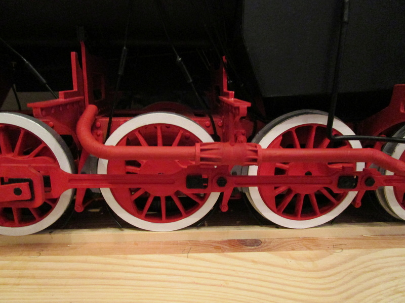 Fertig - Lokomotive HCP 1-6-2 Bulgar Modelik 1:25 von Lothar - Seite 6 33711