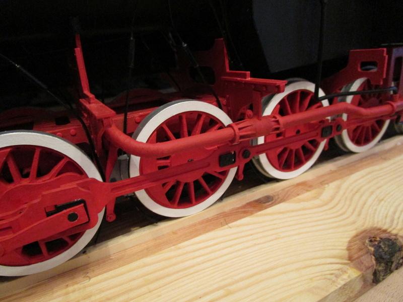 Fertig - Lokomotive HCP 1-6-2 Bulgar Modelik 1:25 von Lothar - Seite 6 34011