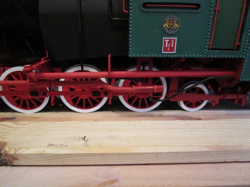 Fertig - Lokomotive HCP 1-6-2 Bulgar Modelik 1:25 von Lothar - Seite 6 34111