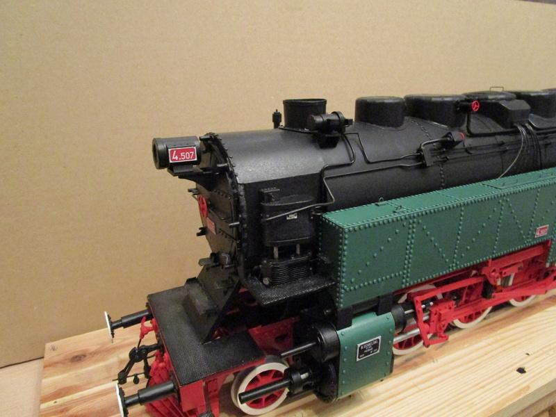 Fertig - Lokomotive HCP 1-6-2 Bulgar Modelik 1:25 von Lothar - Seite 6 35010