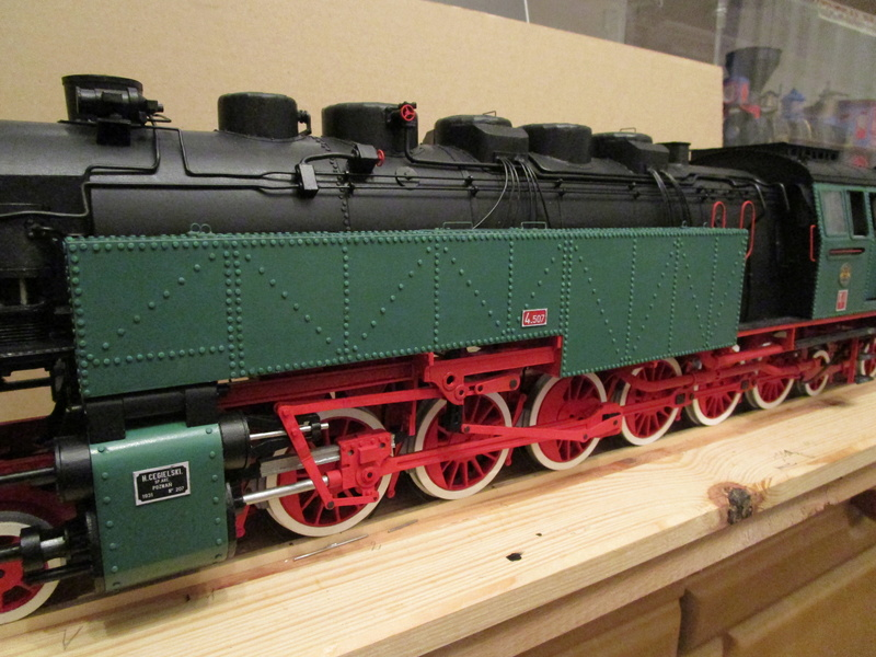 Fertig - Lokomotive HCP 1-6-2 Bulgar Modelik 1:25 von Lothar - Seite 6 35210