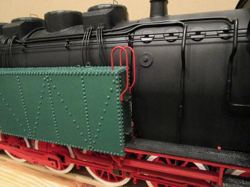 Fertig - Lokomotive HCP 1-6-2 Bulgar Modelik 1:25 von Lothar - Seite 6 35310