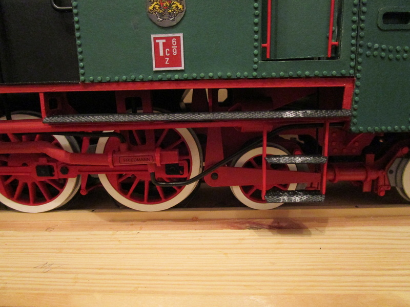 Fertig - Lokomotive HCP 1-6-2 Bulgar Modelik 1:25 von Lothar - Seite 6 35610