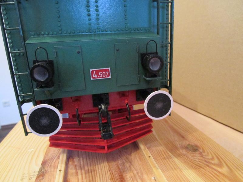 Fertig - Lokomotive HCP 1-6-2 Bulgar Modelik 1:25 von Lothar - Seite 5 36710