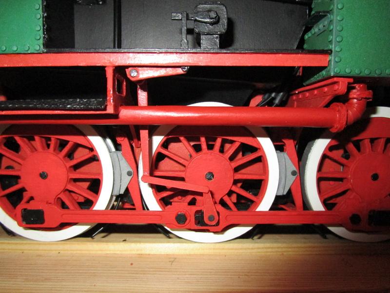 Fertig - Lokomotive HCP 1-6-2 Bulgar Modelik 1:25 von Lothar - Seite 6 36910