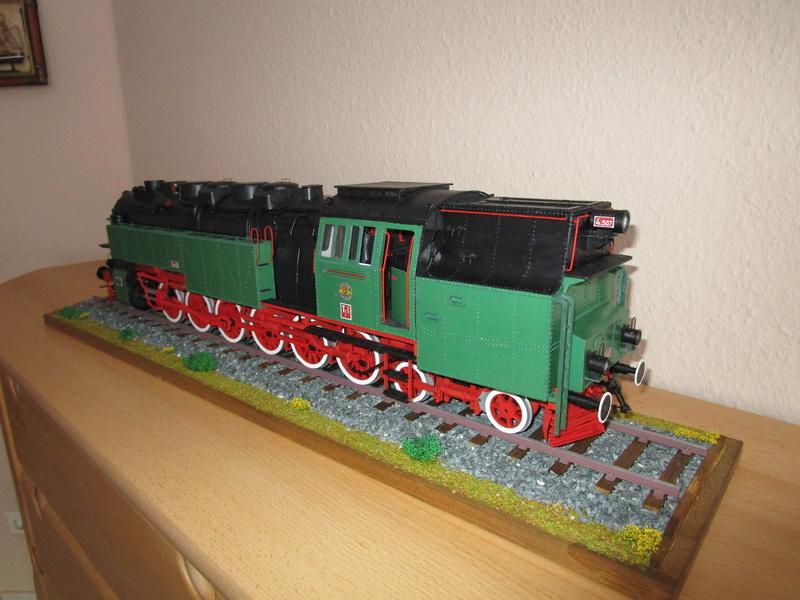 Fertig - Lokomotive HCP 1-6-2 Bulgar Modelik 1:25 von Lothar - Seite 6 38710
