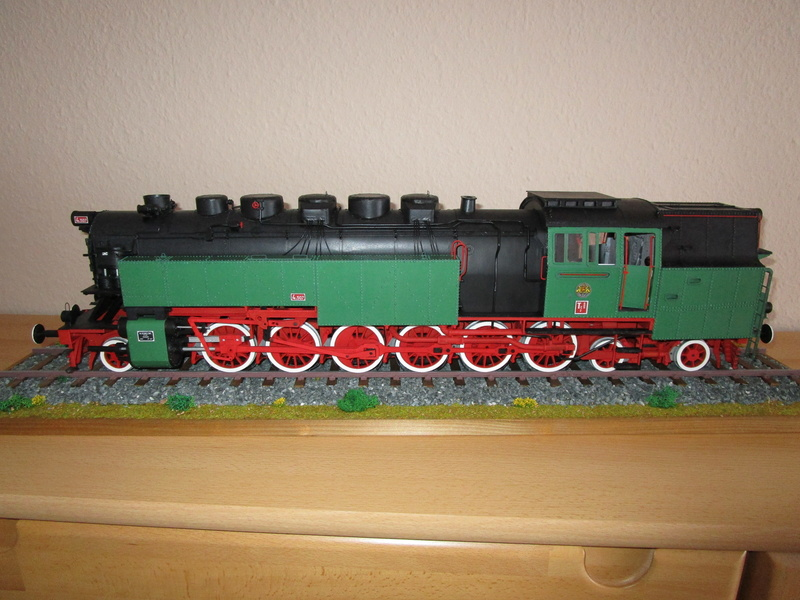 Fertig - Lokomotive HCP 1-6-2 Bulgar Modelik 1:25 von Lothar - Seite 6 39010