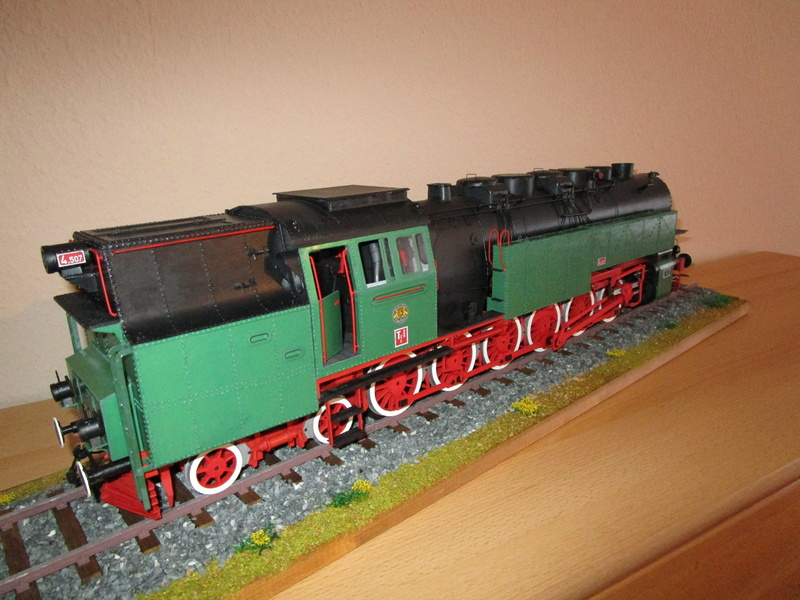 Fertig - Lokomotive HCP 1-6-2 Bulgar Modelik 1:25 von Lothar - Seite 6 39410