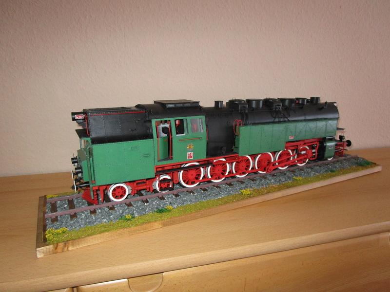 Fertig - Lokomotive HCP 1-6-2 Bulgar Modelik 1:25 von Lothar - Seite 6 40210