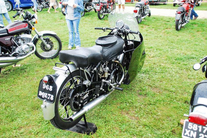 Moto VINCENT 1000 cc Black Shadow OHV Série C de 1949 61131110