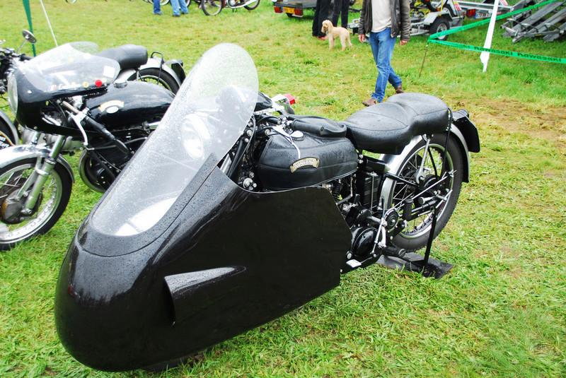 Moto VINCENT 1000 cc Black Shadow OHV Série C de 1949 61136010