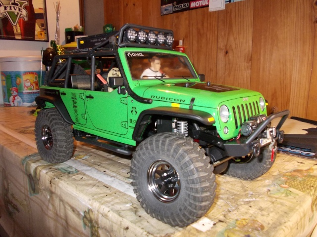 Axial scx10 Jeep Wrangler Unlimited Rubicon KIT - Página 5 110