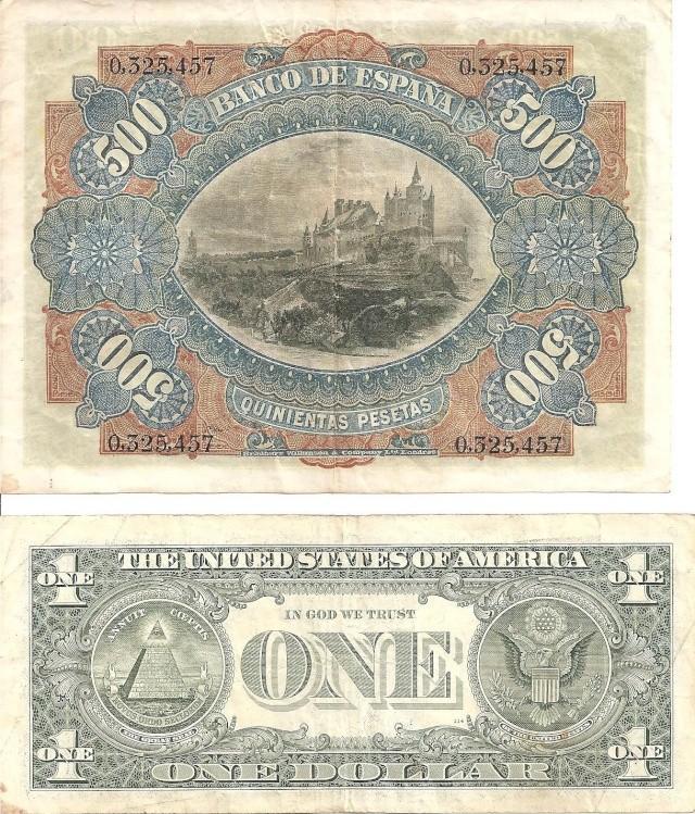 500 Pesetas de 1907 Billet10