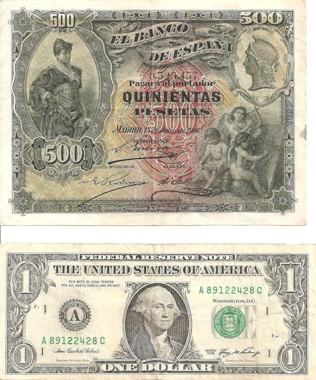 500 Pesetas de 1907 Billet11