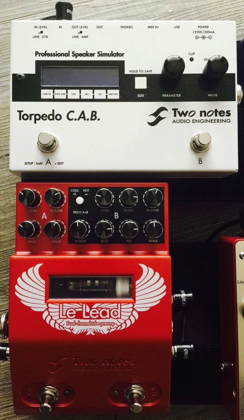 2 Notes Audio Torpedo CAB + Le Lead Preamp Two_no10