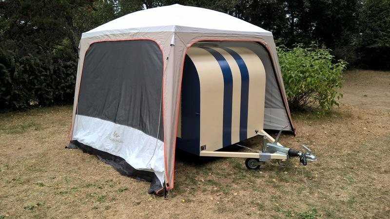 Tonnelle De Camping Decathlon
