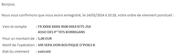 Boutique O'Poils - 5% reversé aux P'tits Korrigans Korr10