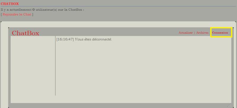 C. Comment utiliser la chatbox  1110