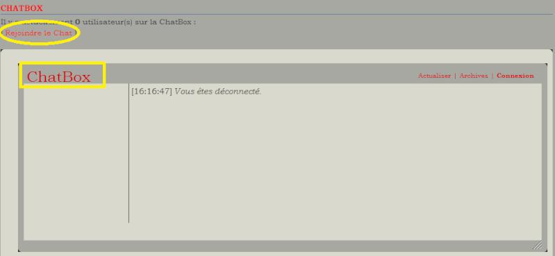 C. Comment utiliser la chatbox  1210