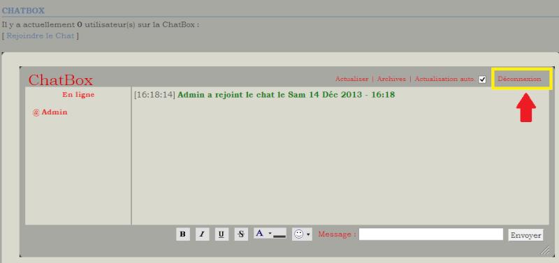 C. Comment utiliser la chatbox  1410